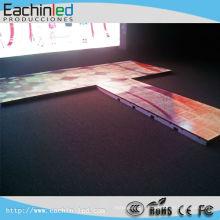 Plancher de danse polychrome de plancher de danse de LED / LED avec la piste de danse visuelle menée de haute qualité