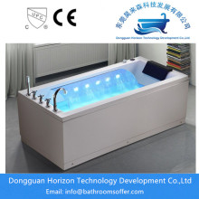 Square jacuzzi soaking bathtub whirlpool spa tub