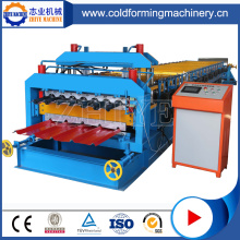 Galvanized Double Layer Iron Roof Sheet Machine