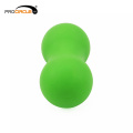 High Density Soft Silicone Muscle Therapy Double Lacrosse Ball