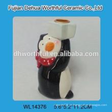 Candelabro de Navidad de cerámica