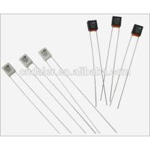 Daier RH-01 fusible thermique noir / blanc 2A 250VAC 2 plier la goupille avec 55 degré ~ 320 degrés