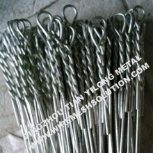 Galvanized Single Looped Ties