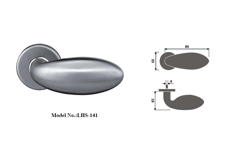 Europe Style Stainless Steel Door Handles