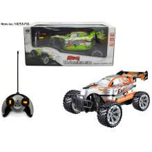 Brinquedos do carro de 2.4G quatro funções R / C para crianças sem cobrar