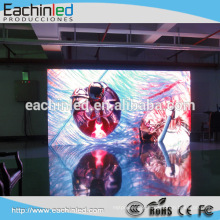 Fundo de palco HD interior LED xxx video screen