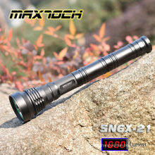 Maxtoch SN6X-21 850m 1000 Lumen Military Flashlight Tail Switch