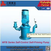 Pompe auto-amorçante Self-Control sans joint de série Wfb série - Sanlian / Kubota