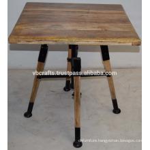 Vintage Industrial Restaurant Table