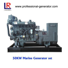 Marine Diesel Generator 50kw with CCS, ISO9001 Certificate