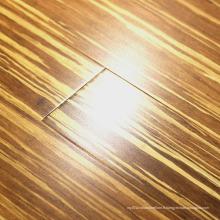 Système de clic ou plancher en bambou tissé de tigre de T & G
