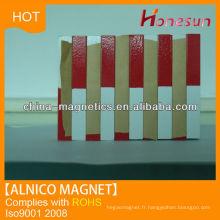 Poudre magnétique pour pouvoir fort alnico LNG37 F6x6x28