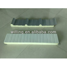 Cold room insulation PU sandwich panel / cold storage/ freezer/pu sandwich panel / sandwich panel / polyurethane sandwich