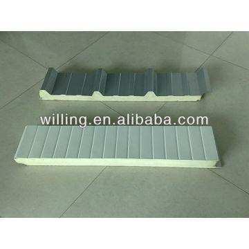Refrigerator PU sandwich panel for cold storage/ freezer/pu sandwich panel / sandwich panel / polyurethane sandwich