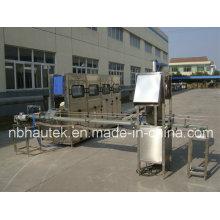Automático de cubeta de 19L máquina que capsula de relleno
