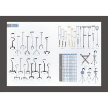 Adjustable Aluminum Underarm Crutch (FL-FB)