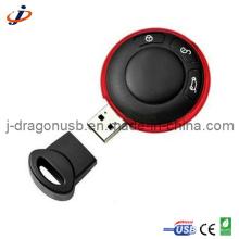 Runde u. Kreis-Auto-Schlüsselform USB-Blitz-Feder-Antrieb für Förderung