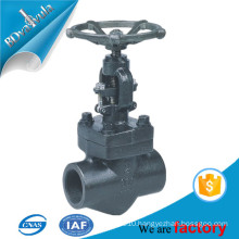 Forged globe valve thread connection high quality