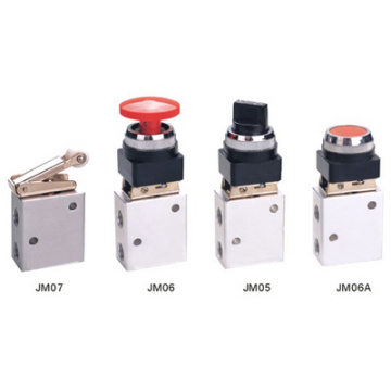 Válvulas de controle mecânico de série JM