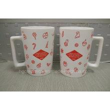 Regalo del día de la Navidad, taza de cerámica del