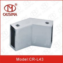 135 Degree Shower Glass Door Connector
