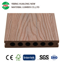 Decking plástico de madeira expulso do composto WPC