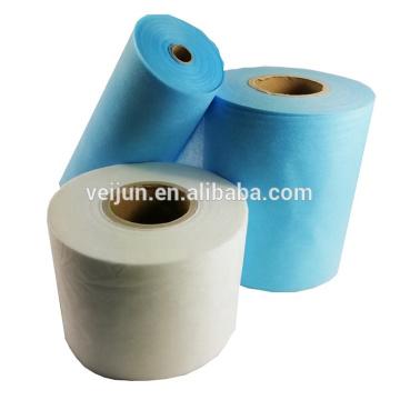 Tecido de filtro de máscara de tecido não tecido 100% PP N99 / 95