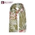 HEC beliebt in den USA Werbe Karo Floral Schal mit Polyester