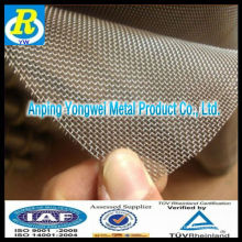 Square Wire Mesh Hot dipped galvanized before or after weaving