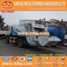 DONGFENG 4x2 10cbm compressed waste truck 170hp hot sale for export