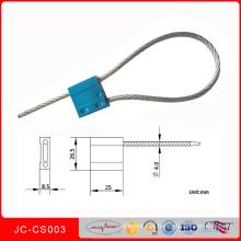 Jccs-003 Metal Aleaciones Acero Inoxidable Apriete Sellos de Alambre Cerradura de Sello de Contenedor de Plástico