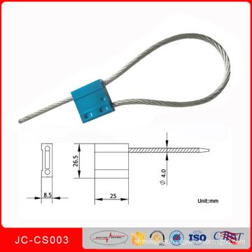 Jccs-003 Ligas De Metal De Aço Inoxidável Fio De Aperto De Vedação Selos De Plástico Selo Bloqueio