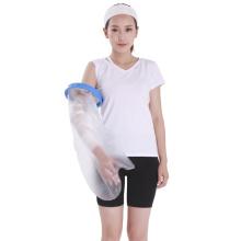 Protector de yeso impermeable reutilizable para adultos de brazo corto reutilizable