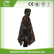 Camo Waterproof Army Hunting Military poncho