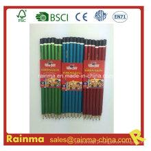 Lápis de madeira do brilho Lacquare Hb do tambor com alta qualidade