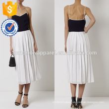 New Fashion Navy And White Combo Cami Dress Manufacture Wholesale Fashion Women Apparel (TA5283D)