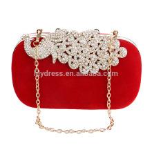 Fashion Designer Femme Evening Clutch Bag Sac de mariée pour la soirée nocturne de mariage Utilisez des sacs à main nuptiaux B00015 sacs à main fabriqués en Chine