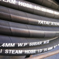 Eine Ply Steel Wire Geflochtene verstärkte Abdeckung EPDM Steam Rubber Hose