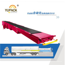Телескопические ленточные конвейеры / выдвижные конвейеры, используемые для загрузки доков