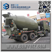 North Benz 7 Cbm Military Cement Mixer Truck