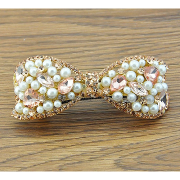 2014 nouvelle perle strass acrylique Hair Clips ornements
