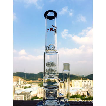 Two Cross Road Perc et Birdcage Glass Water Pipe