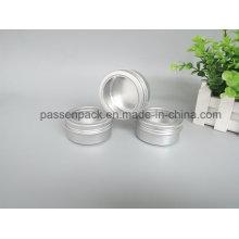 150g Aluminiumbehälter für kosmetische Seifenverpackung (Fensterschraubdeckel)