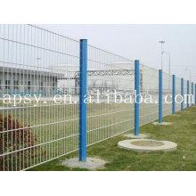 Clôture de treillis métallique industrielle