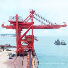 Uso del puerto Descargador continuo de buques de cuchara