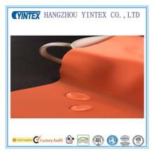 Tissu imperméable à l'eau de haute qualité de tricotage, orange