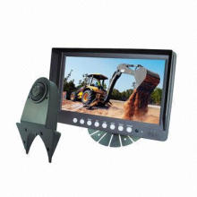9-inch mobile monitor with backup cameras for trucks