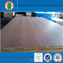 Paneles de madera Vener de 18 mm con mejor precio / Blockbaord comercial