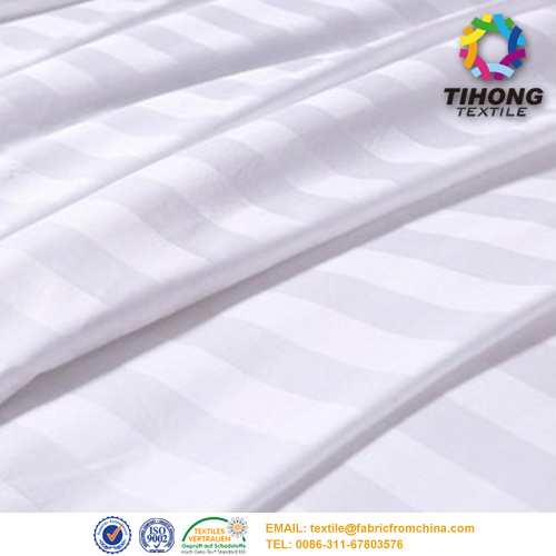 satin stripe fabric factory