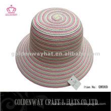 Ladies Paper Straw Cloche Hats